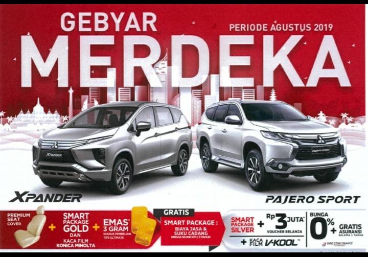 Banner Promo Merdeka Agustus 2019 Di Dealer Mitsubishi Solo Boyolali