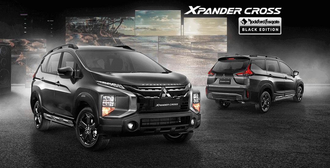 Harga Dan Spesifikasi Mitsubishi Xpander Cross Black Edition Boyolali