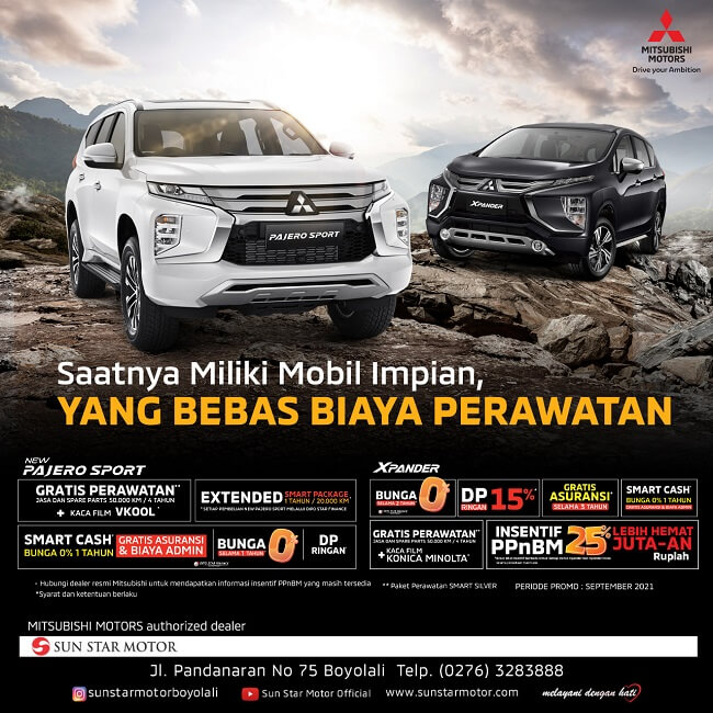 Promo Saatnya Miliki Mobil Impian Hanya Di Dealer Mitsubishi Solo Boyolali